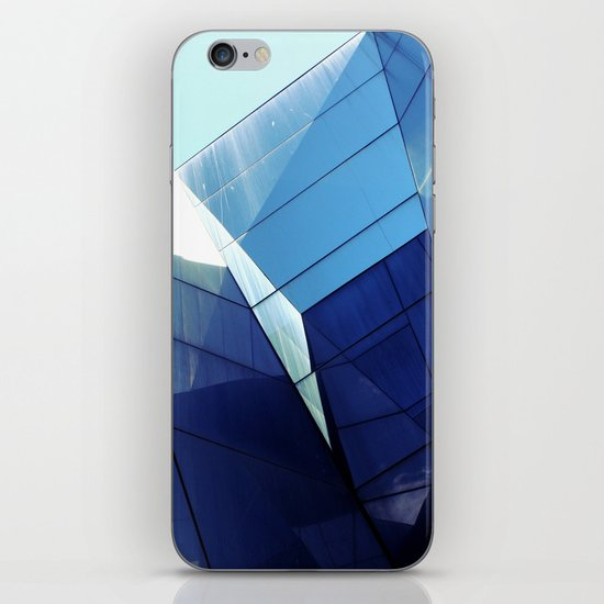 Diamond Glasses iPhone & iPod Skin