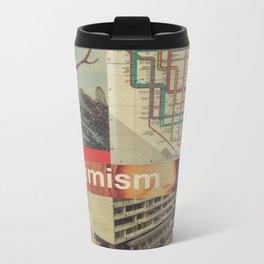 Optimism178 Metal Travel Mug
