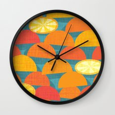 Squeeze Me.Teal Wall Clock