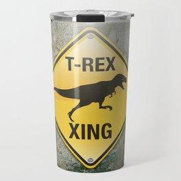 T-Rex Crossing Travel Mug