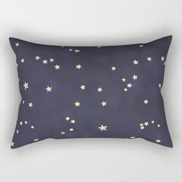 Gold Stars Rectangular Pillow