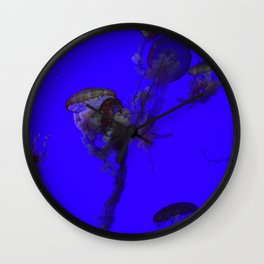 sea clouds Wall Clock