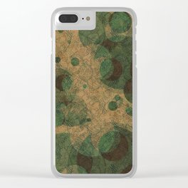 Paisleys-TP1 Clear iPhone Case