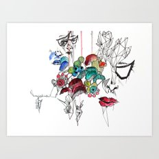 All there Art Print
