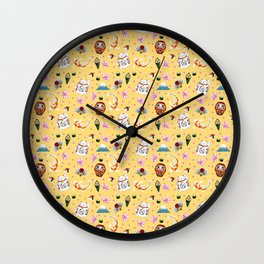Japanese icon Wall Clock