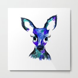 Little Bambi Metal Print