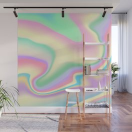 Holographic Design Wall Mural