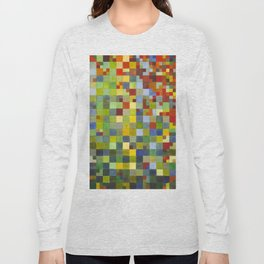 This Grid Is From Somewhere Within Me Long Sleeve T-shirt