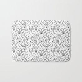 Illuminati Pattern Bath Mat