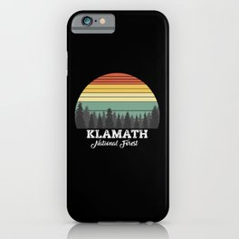 KLAMATH CALIFORNIA iPhone Case