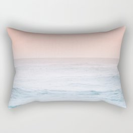 Pastel ocean mist #society6 Rectangular Pillow
