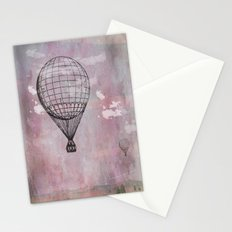 Air balloon Stationery Cards