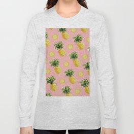 Pineapple and Pink III Long Sleeve T-shirt
