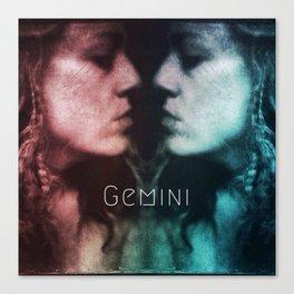 Gemini Twins Canvas Print