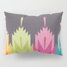 Tribal Feather Pattern Bright Pillow Sham