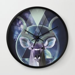 Kudu Antelope Wall Clock