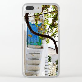 Village view Clear iPhone Case