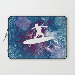 Sport, surfboarder Laptop Sleeve