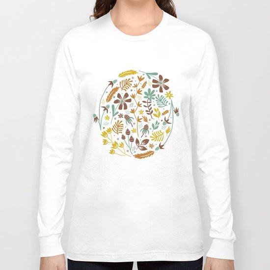 Autumn Blooms Long Sleeve T-shirt