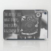 da vinci iPad Cases featuring See Leonardo da Vinci by KimberosePhotography