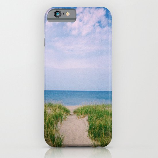 Clouds on the Lake iPhone & iPod Case