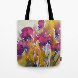 Abstract flowers (2) Tote Bag