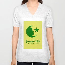 TRUMP 2016 - I love the Muslims Unisex V-Neck