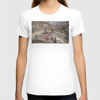 trout T-shirts featuring Rainbow Trout by Mitch Meseke