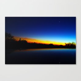 Sonoran Desert Sunset Canvas Print