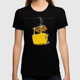 Ski lift gondola T-shirt