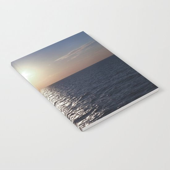 Sunset, Santorini Notebook