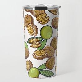 cheeky walnuts pattern Travel Mug