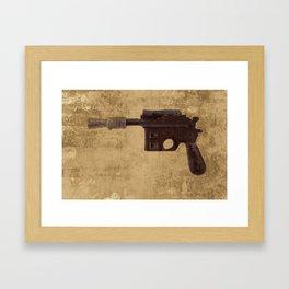 Han Pistol - Blaster Framed Art Print