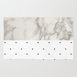 Marble And Dots Rug