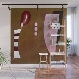 Wassily Kandinsky Circles in the Center Wall Mural