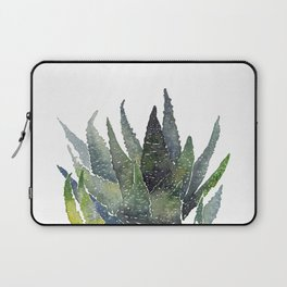 Zebra succulent Laptop Sleeve