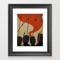 Winkies Framed Art Print