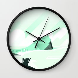 Beach City Wall Clock