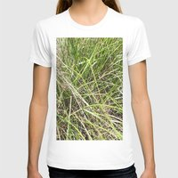 grass T-shirts featuring GRASS by JANUARY FROST