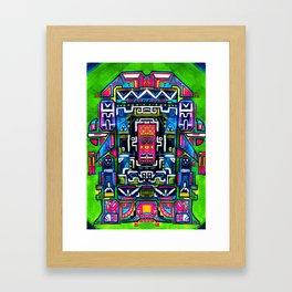 Ali Anxa the extraterrestrial Framed Art Print