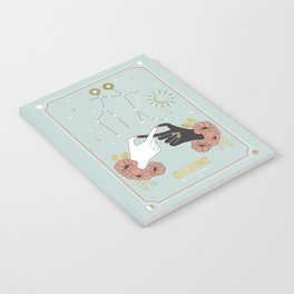 Gemini Zodiac Series Notebook