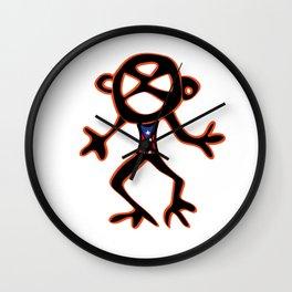 PUERTO RICO Taino Symbols Wall Clock