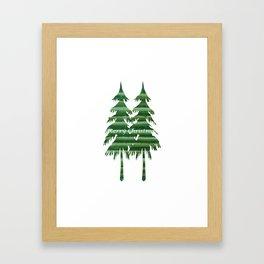 Happy Holiday - Holidaze Framed Art Print