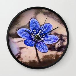 Liverleaf Dream | Painting Wall Clock