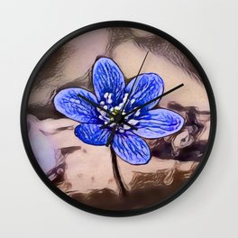 Liverleaf Dream | Painting Wall Clock