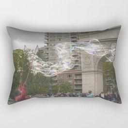 Mr. Bubbles Rectangular Pillow