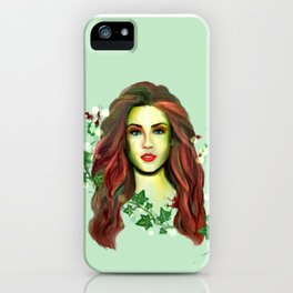 Lady of Plants iPhone Case