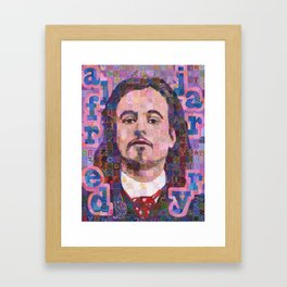 Portrait Of Alfred Jarry Framed Art Print