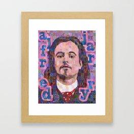 Portrait Of Alfred Jarry Framed Art Print