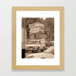 BED..lam Framed Art Print